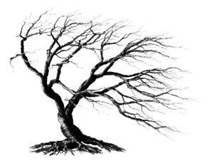 ståltrådstræ